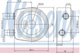 Termoflot radiator ulei VOLVO S40 I (VS) NISSENS 90697