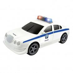 Masina politie, 31 cm, 2 x AA, lumini si sunete