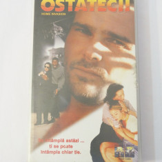 Caseta video VHS originala film tradus Ro - Ostatecii