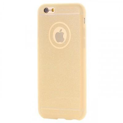 Husa SAMSUNG Galaxy S6 Edge - Glitter (Auriu) foto