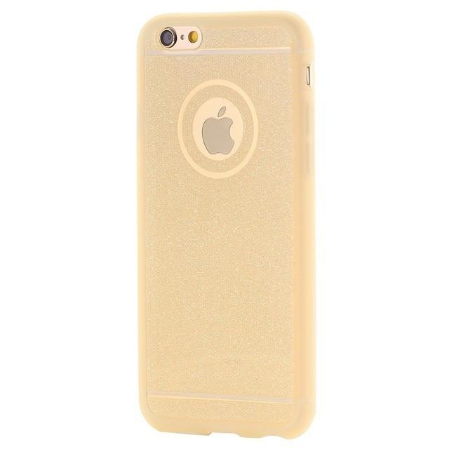 Husa SAMSUNG Galaxy S6 Edge - Glitter (Auriu)