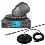 Cumpara ieftin Promotie statie radio CB Avanti Delta + antena CB Sirio T3/27 + baza magnetica...