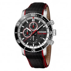 Ceas barbatesc Wenger 01.1843.105 Roadster Black Night Chrono. 45mm 10ATM