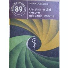 Ce Stim Astazi Despre Micozele Interne - Maria Golaescu ,273654