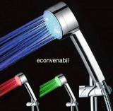 Para de Dus Iluminata 3 Culori Shower LED SR8