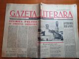 gazeta literara 15 octombrie 1959-art. eugen barbu si diversiunea zilei la ONU
