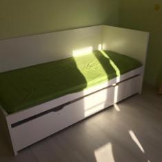 Vand pat dublu copii complet  IKEA FLAXA
