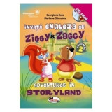 Invata engleza cu Ziggy&Zaggy - Vol. 2 (+DVD) - Georgiana Bose, Marilena Chirculete