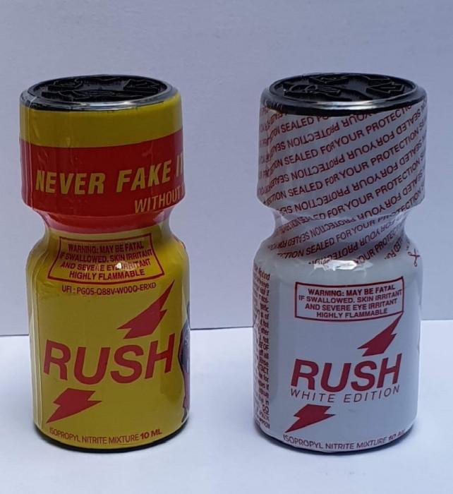 RUSH + RUSH WHITE Poppers 2x10ml, aroma camera, NR. 1 IN INTREAGA LUME!!! la SUPER PRET!!! popers