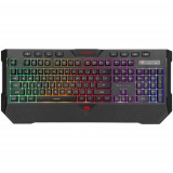 Tastatura Gaming Marvo K656, LED Rainbow, USB (Negru)