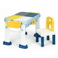 Masuta de joaca 6 in 1 pentru copii cu scaun si tabla Ecotoys
