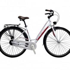 Bicicleta Dama Devron City Lady LC1.8 Crimson White M 520mm 20.5