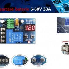 Controler incarcare baterie panou solar fotovoltaic 6 - 60 VDC