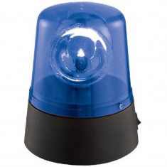 Girofar Ibiza Police pentru petreceri, LED, albastru