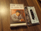 Cumpara ieftin CASETA AUDIO  TOM JONES-THE GOLDEN HITS ORIGINALA UNISON 1986