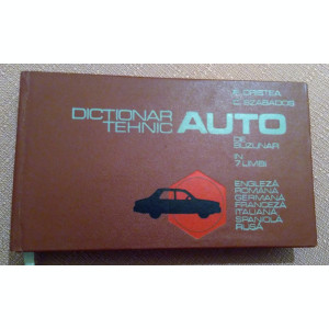 Dictionar Tehnic Auto De Buzunar In 7 Limbi - P. Cristea, C. Szabados