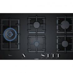Plita Bosch PPS9A6B90 Gaz 5 arzatoare Negru