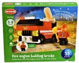 Set de construit ATCO Masina de pompieri 55 piese, 6-8 ani, Baiat
