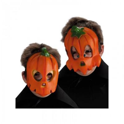 Masca dovleac Halloween pentru copii foto