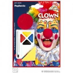 Set pictura fata cu nas de clown