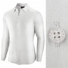 Camasa pentru barbati, alba, regular fit - Essential Life