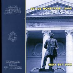 """Romania-SET DE MONETARIE 2005 """"DENOMINARE"""" dedicat U.M.F.  Bucuresti, set RAR"""