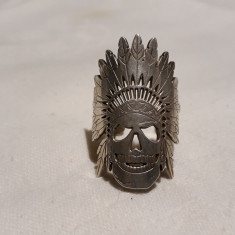 INEL argint TRIBAL vechi INDIAN APACHE rar MEXIC de efect REGLABIL opulent