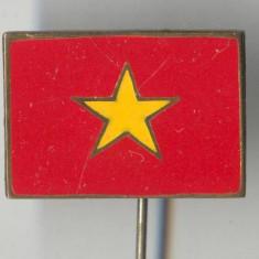 Insigna Heraldica - Steag - LAOS - email la cald - SUPERBA