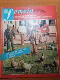 Femeia ianuarie 1982-judetul mures, galati, interviu ana blandiana