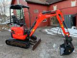 Mini excavator: Kubota U17-3a