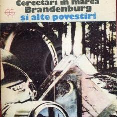 Cercetari in marca Brandenburg si alte povestiri