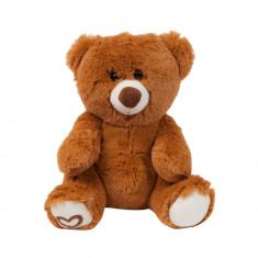 Jucarie de plus Ursulet Maron, 21 cm