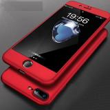 Husa Apple iPhone 8 Plus, FullBody Elegance Luxury Rosu, acoperire completa 360...