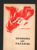 C8371 DEFAIMAREA LUI PAGANINI DE A. VINOGRADOV