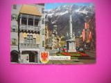HOPCT 78200  INNSBRUCK AUSTRIA  -STAMPILOGRAFIE-CIRCULATA
