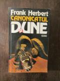 DUNE CANONICATUL - FRANK HERBERT
