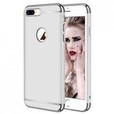Husa telefon Apple Iphone 8 ofera protectie 3in1 Ultrasubtire Lux Silver Matte
