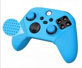 Husa și 2 Thumb Grip pentru joystick controller maneta Xbox Series X și S
