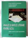 ANALIZE SI SINTEZE LITERARE PENTRU LICEU -Scriitori canonici si opere reprezent