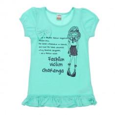Tricou Top fete Charanga vernil 8 9 ani