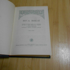 MICA BIBLIE - JUSTINIAN - 1977