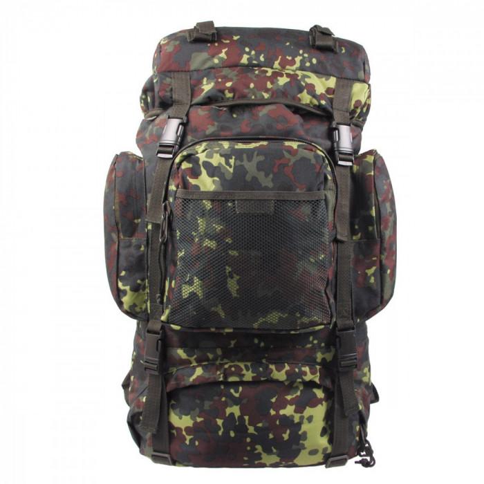 Rucsac MFH BW Tactical Camuflaj Camo Flecktarn 55L 30273V