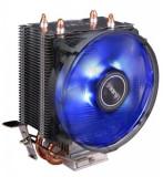 Cooler CPU Antec A30, Iluminare LED Albastru (Negru)
