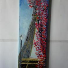 Paris 1-pictura ulei pe panza