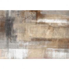 Covor 80x150 cm, maro gri, ESMARINA TIP 1