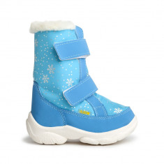 Cizme de iarna ALASKA turquaz pentru copii, OLDCOM