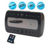 Resigilat!Ceas de Birou Spion Camera Full HD iUni B242, Night Vision, Senzor de miscare, Reportofon Foto Video