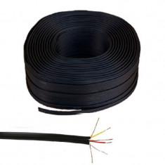Rola cablu 3 x RCA, Negru