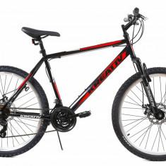 Bicicleta Mtb Kreativ 2605 Negru Rosu M 26 inch, Discuri