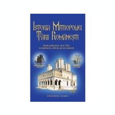 Istoria Mitropoliei Tarii Romanesti - Pr. prof. Dr. Mircea Pacurariu, Diac. conf. Dr. Pavel Cherescu